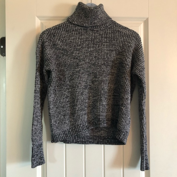 100% cotton turtle neck sweater